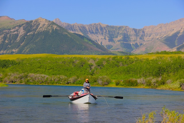 Floating The Waterton River -Alberta