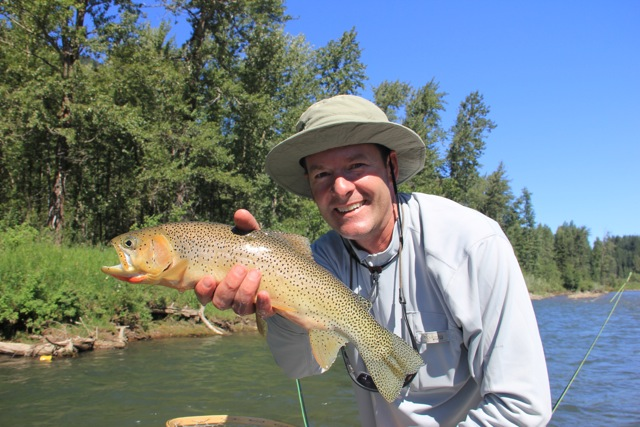 Elk River Cutthroat -Elk River Fly-Fishing Guides