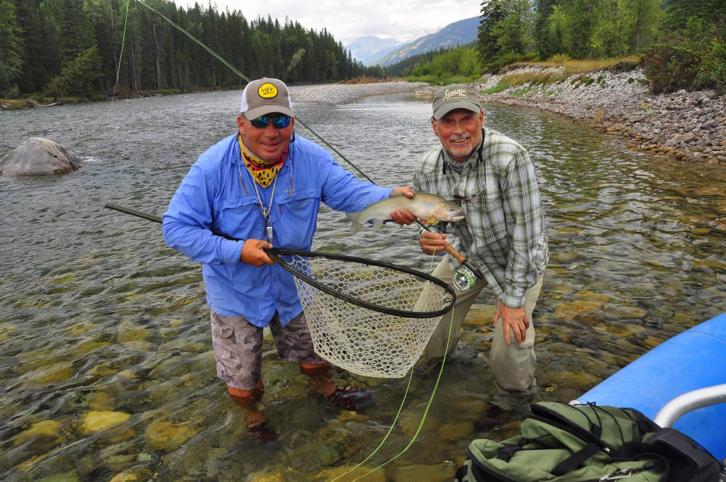 Fly-Fishing The Bull River