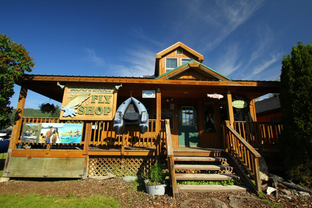 Kootenay Fly-Shop, Fernie BC