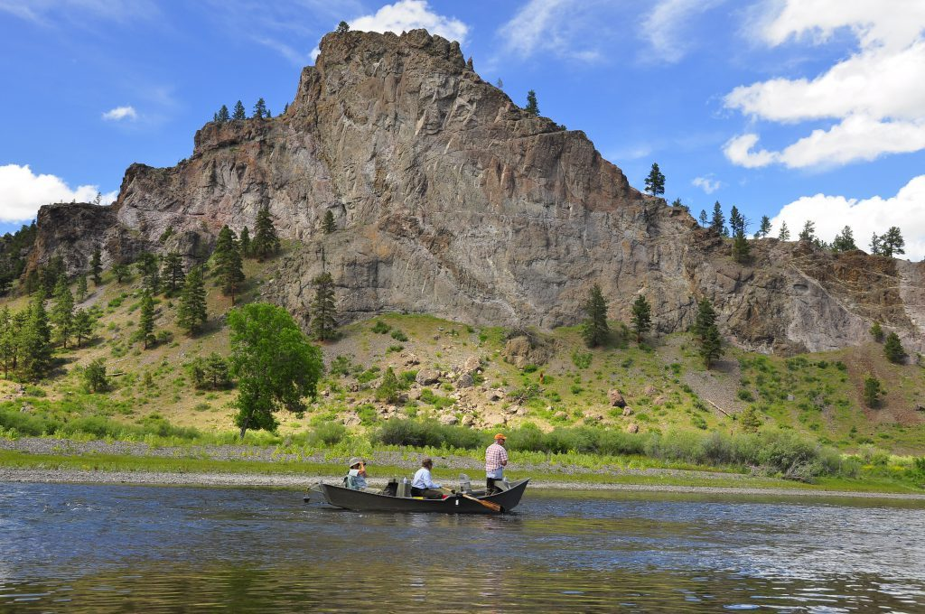 Float the Missouri River in Montana on a guided fly-fishing trip