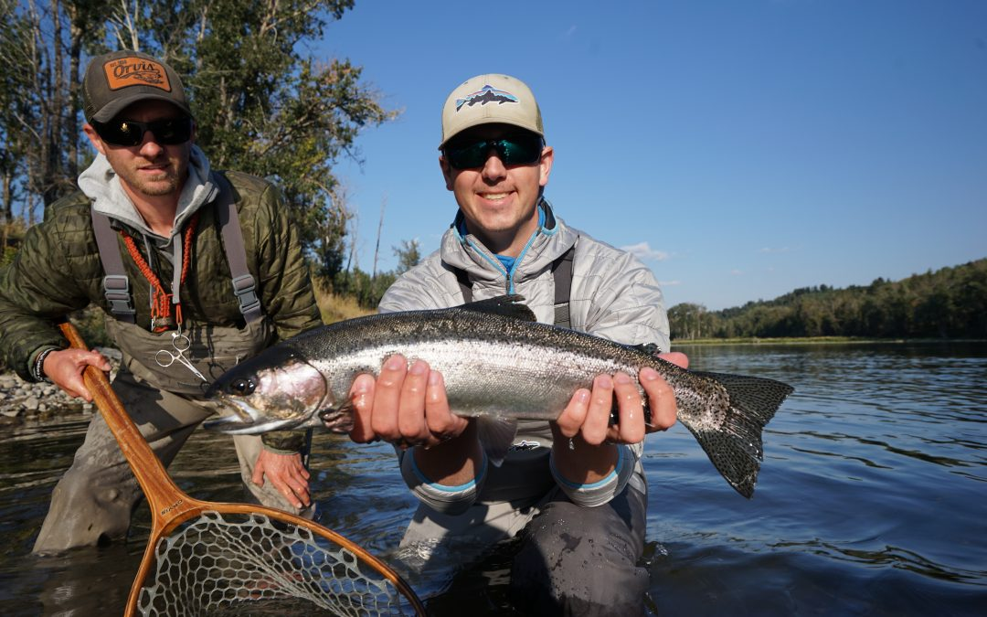 Bow River Fly-Fishing – Fall Fishing is Full On