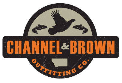 channel and brown outfitting company logo
