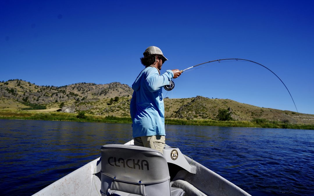 Missouri River Streamer fishing