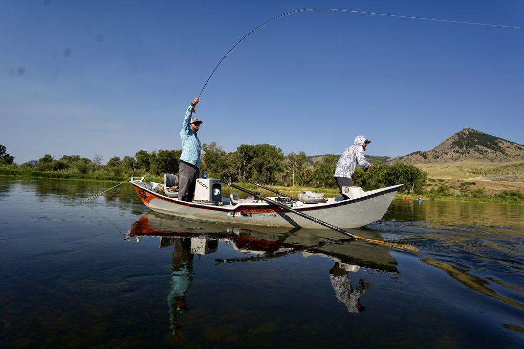 Missouri River fly-fishing